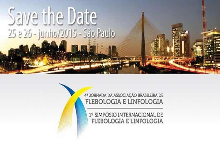 Imagem do 4ª JORNADA DA ASSOCIAÇÃO BRASILEIRA DE FLEBOLOGIA E LINFOLOGIA E 1º SIMPÓSIO INTERNACIONAL DE FLEBOLOGIA E LINFOLOGIA