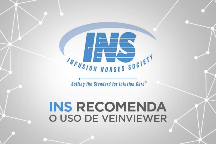 Imagem do O INFUSION NURSES SOCIETY (INS) RECOMENDA O USO DE VISUALIZADOR DE VEIAS.