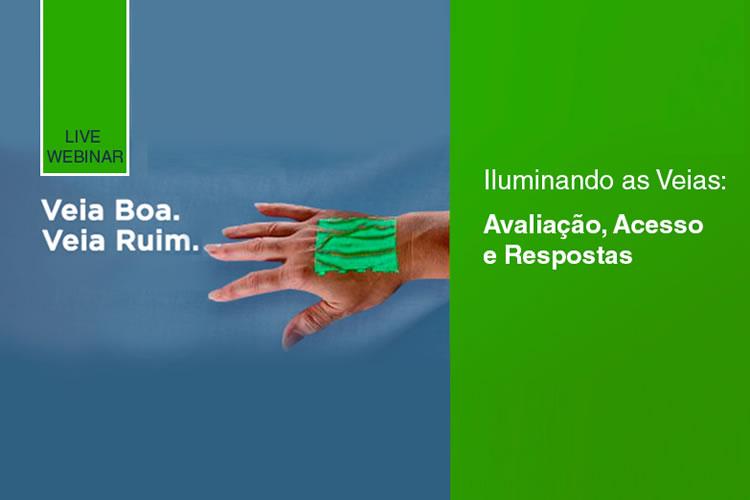 Imagem do PERGUNTAS E RESPOSTAS - SIMPÓSIO VIA WEB 03 - VEIA BOA X VEIA RUIM - USANDO LUZ